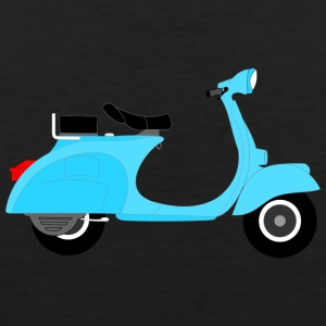 Vespa moped - Men's Premium Tank Top