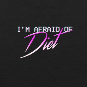 Afraid Of Diet - Mannen Premium tank top