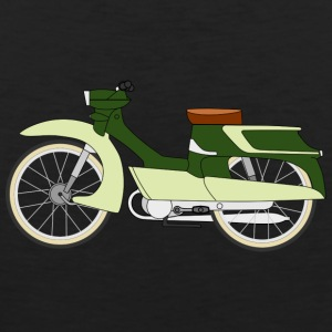 moped moped vespa - Premium singlet for menn