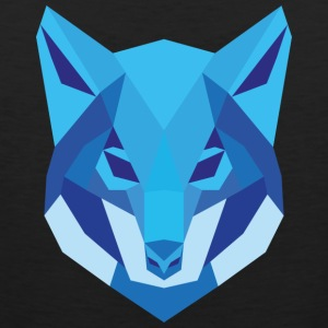 Wolf Low Polygon - Men's Premium Tank Top