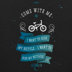 I want to ride my bicycle bmx bike bike lol - Men's Premium Tank Top