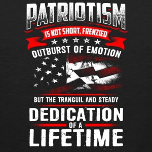 PATRIOTISM - Men's Premium Tank Top