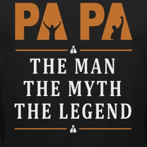 Papa the legend shirt - Men's Premium Tank Top