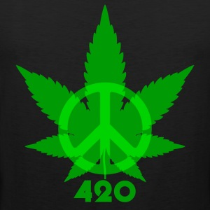 Peace 420 - Men's Premium Tank Top