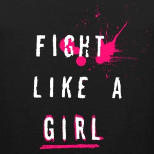 Fight Like A Girl - Herre Premium tanktop