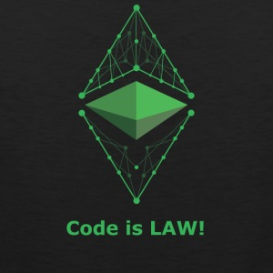 Ethereum Classic - Code is LAW! - Männer Premium Tank Top