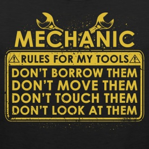 Mechanic tool lines - Men's Premium Tank Top