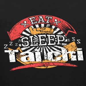 Eat Sleep Tai chi - Men's Premium Tank Top
