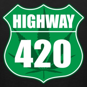 Highway 420 - Men's Premium Tank Top