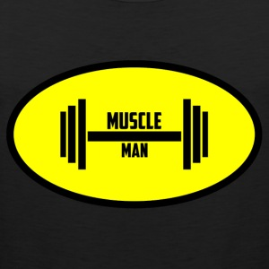 Muscle Man - Men's Premium Tank Top