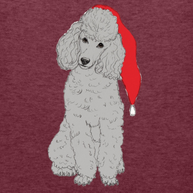 Poodle toy G - christmas