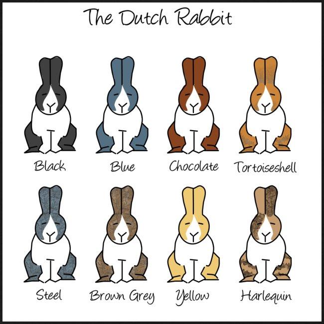 Dutch Rabbit Colours