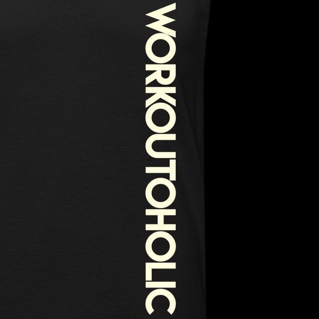 Workoutoholic blanc