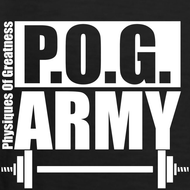 POG Army White