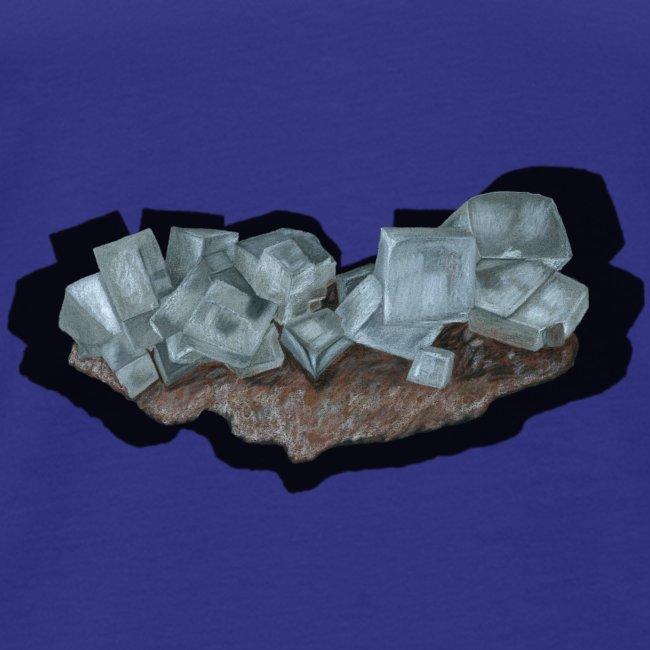 Halit-Kristallstufe