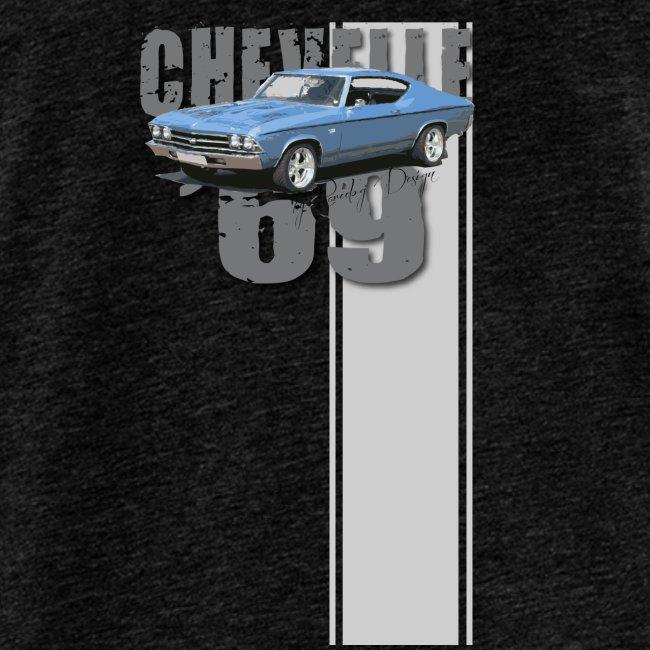 69 chevelle stripe