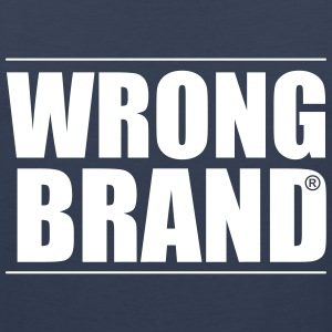 Wrong Brand: the ultimate brand parody - Men's Premium Tank Top