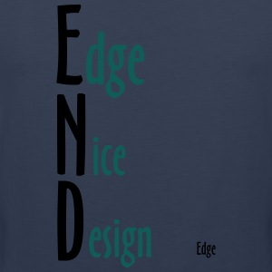 Edge_Nice_Design - Men's Premium Tank Top