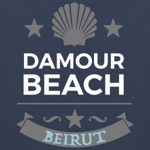 Damour Beach - Men's Premium Tank Top