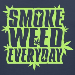 SMOKE_WEED_EVERYDAY - Mannen Premium tank top