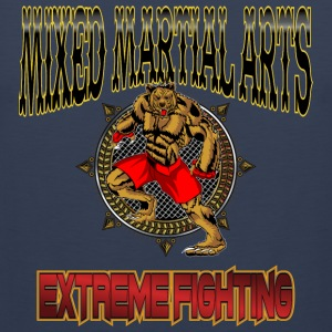 MMA Extreme Fighting T-Shirt / Tee - Men's Premium Tank Top