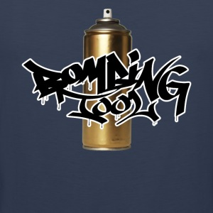 Golden Spray Can Bombing Tool - Männer Premium Tank Top