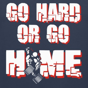 GO HARD - Men's Premium Tank Top