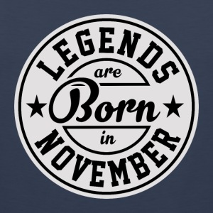 Legends born born birthday gift Gebu - Men's Premium Tank Top