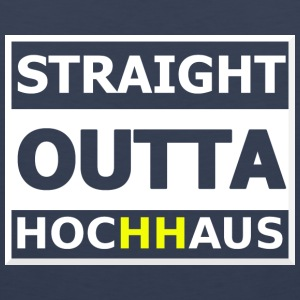 Straight Outta Hochhaus HH YELLOW - Men's Premium Tank Top