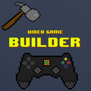 Vídeo Game Builder! - Tank top premium hombre