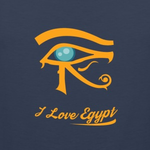 i love Egypt - Men's Premium Tank Top