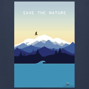 Save Nature - Men's Premium Tank Top