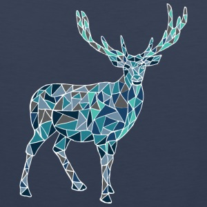 Blue deer - Men's Premium Tank Top