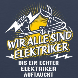 We are all electricians - Men's Premium Tank Top