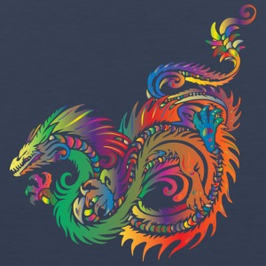 colorful dragon - Men's Premium Tank Top
