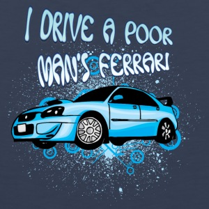 I drive a poor man s Ferrari - Men's Premium Tank Top