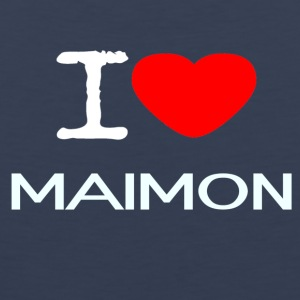 I LOVE Maimon - Premium singlet for menn