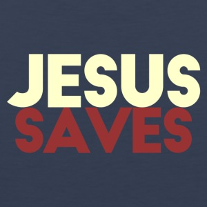Jesus Saves - Men's Premium Tank Top