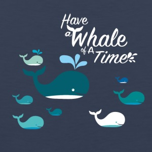 Have a Whale of a Time - Men's Premium Tank Top