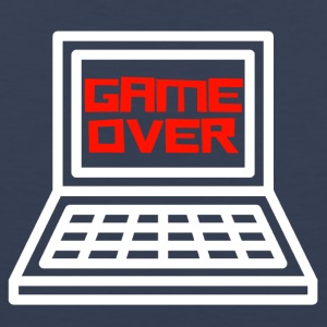 Game Over Gamer - Mannen Premium tank top