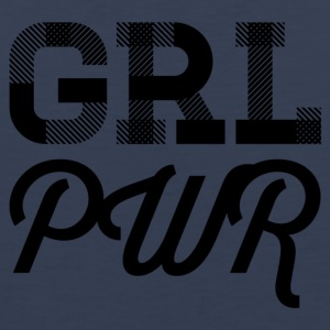 girlpower - Tank top męski Premium