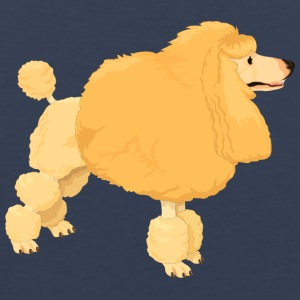Yellow poodle - Men's Premium Tank Top