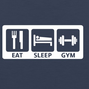 Eat Sleep Gym - Herre Premium tanktop