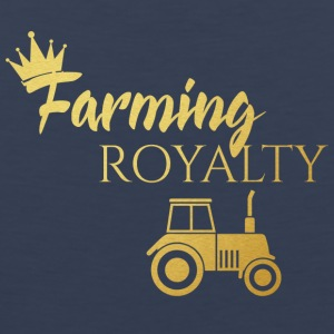 Farmer / Farmer / Bauer: Farming Royalty - Men's Premium Tank Top