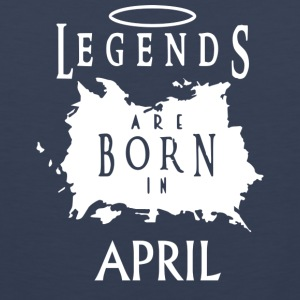 Legend April Birthday - Men's Premium Tank Top