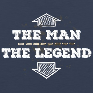 The Man the Legend legendary Sexprot Macho Titan - Men's Premium Tank Top