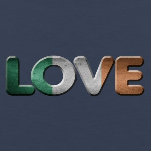 I LOVE IRELAND - Men's Premium Tank Top