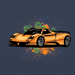 Cool supercars - Mannen Premium tank top