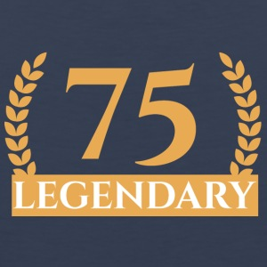 75. Birthday: 75 Legendary - Men's Premium Tank Top
