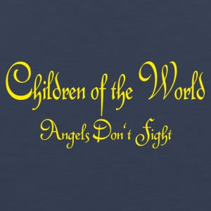 Children of the World - Angels don´t fight - Männer Premium Tank Top
